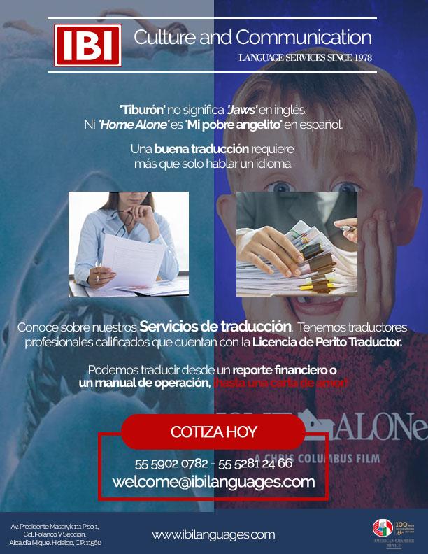 IBI Servicios de traducción